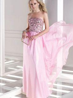 d5007c3dbe48 A-line Pink Chiffon Formal Dress Evening Dress/Prom Dress 2015 Sean  Collection 35681