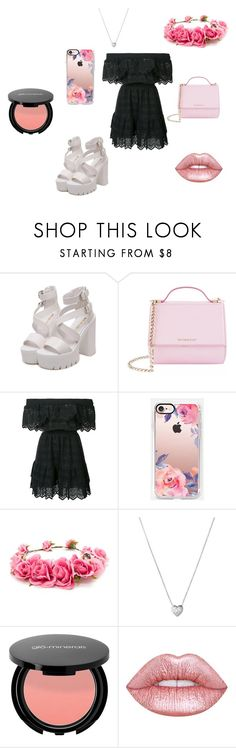 """Романтика"" by chepizhko-marina on Polyvore featuring мода, Givenchy, LoveShackFancy, Casetify, Forever 21, Links of London и Lime Crime"