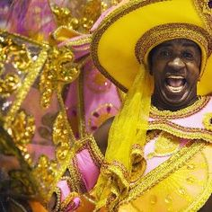 Carnaval in Brazil: Rio and beyond. Sparkling costume.