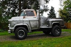 "Rat Rods FS » Blog Archive » Chevrolet : Other Pickups 2 door coupe ""NO RESERVE"" 1956 Chevy 5400 ""Low cab over"" Custom Rat Rod Truck : $5700.00"