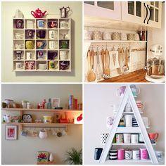 Ideias para organizar suas canecas e ideias de como reproduzir projetos de faça você mesma na sua casa. Você vai adorar organizar suas canecas.