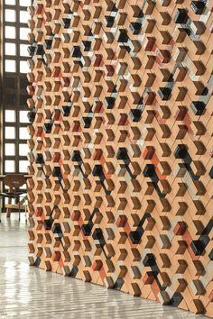 Terracotta wall/floor #tiles TIERRAS ARTISANAL BASE by MUTINA