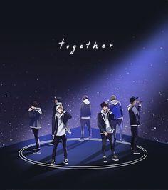 Together [BTS THIRD ANNIVERSARY] by renkarts on DeviantArt