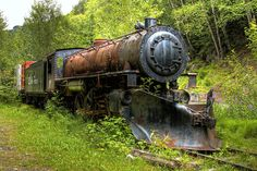 so sad to see these trains just doing nothing and not being restored or put in to a museum.