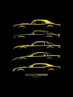 silhouettehistory | Chevrolet Camaro