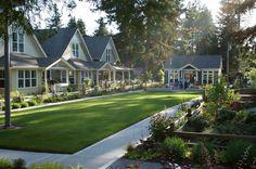Cottage Housing as an infill housing development tool.