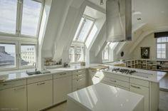 Love those windows! Loft apartment