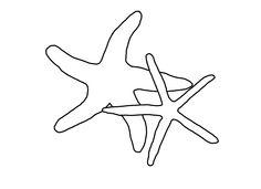 Seashell and Starfish Pattern Printables  Starfish Patterns and Blog