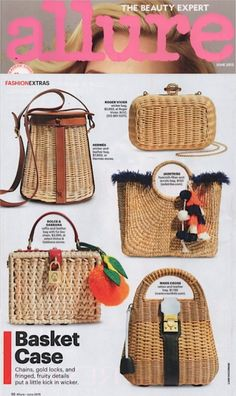 Allure Magazine June 2015 Basket Case