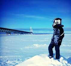 From our fans: the ultimate way to spend a Pure Michigan snow day!