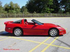 c4 corvette | C4 Chevrolet Corvettes - 1986 Models