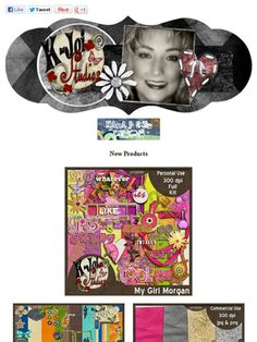 Ad:New My Girl Morgan Scrap Kit,CU products,& Mores by K.Joi Studios! http://mad.ly/060223