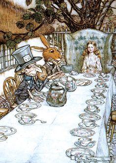 Alice In Wonderland Canvas Wall Art 10 x 13 Black /& White Rabbit Disney Movie