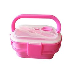 Eco-friendly two-level 3000 ml lunch box for adults Healthy Foods To Eat, Healthy Recipes, Adult Lunch Box, Lunch Box Containers, Green To Blue, Raw Vegetables, Travel Light, Bento Box, Picnic