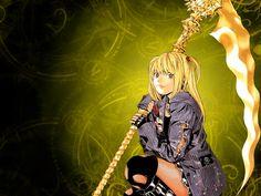 Misa Amane Death Note Wallpaper