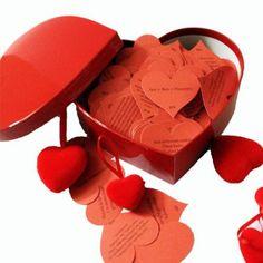 Her Güne 365 Adet Aşk Mesajı Kutusu