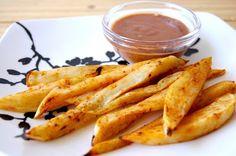 Quick to make sweet potato fries - lovely recipe!