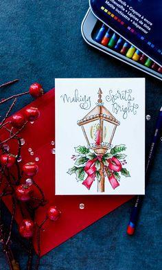 Simon Says Stamp | Suzy's Watercolor Prints Christmas Cards