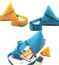 Kelly_Eff: Origami DIY Bag