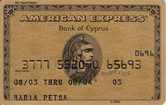 American Express Gold | Bank of Cyprus
