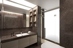 CGI - Bathrooms on Behance