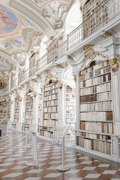 Admont Abbey Library, Austria - The Most Beautiful Library in the World