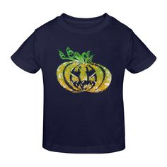 Halloween Pumpkin Sunny Youth T-shirt (Model Apparel Clothing, Custom Bags, Art Market, Cool Tees, Halloween Pumpkins, Scream, Pop Art, Horror, Youth