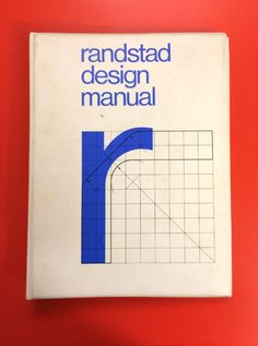 randstad design manual – Wim Crouwel | Identity Guidelines ...