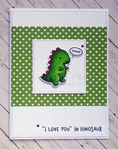 Image result for lawn fawn rawr card