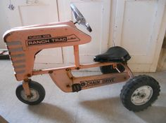 PINK Peddle Tractor