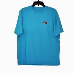 TOMMY BAHAMA Men's TOTAL KNOCKOUT Graphic Print T Shirt MAUI BLUE size S NWT #TommyBahama #GraphicTee
