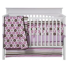 $129.99 Bacati Mod Stripes 10 pc Crib Set.Opens in a new window