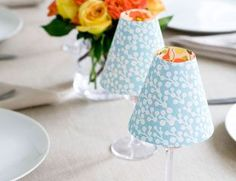 Give your table a chic, cheery feel