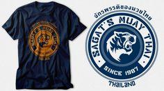 Sagat's Muay Thai by SnoMad_Designs (Street Fighter)