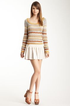 Camela Tribal Jacquard Skirt. Just add some tights and booties for a adorable fall look.