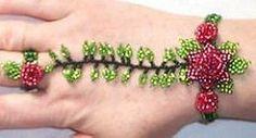 The World's Best Photos of bracelet and peyote Slave Bracelet, Ring Bracelet, Beaded Jewelry, Beaded Bracelets, Hand Flowers, World Best Photos, Diy Arts And Crafts, Bracelet Patterns, Bead Weaving