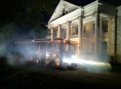Have a hauntingly good time visiting area sites to hear of ghostly tales, unusual experiences and eerie events on the Haunted History Trolley Tours in Muskogee.