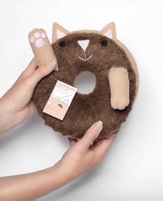 Curl Up With These Cute Cat Donuts