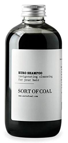 Sort of Coal - Kuro Activated Charcoal Shampoo (500ml / 16.9 oz)