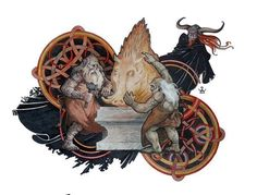 Dmitry ILyutkin: Brokk and Eytri; Golden Boar. .