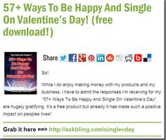 57+ Ways To Be Happy And Single On Valentine's Day! (free download!)