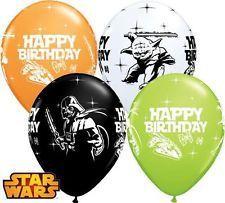 Disney Star Wars happy birthday ballonnen ø 28 cm. 6 st.