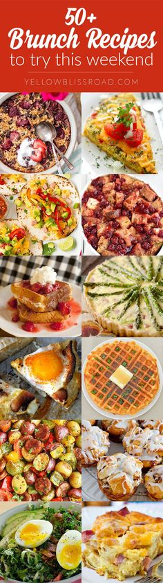 50 Delicious Mother's Day Brunch Recipes mothers day dinner 50 of the Best Brunch Recipes to Make this Weekend Best Brunch Recipes, Breakfast Recipes, Summer Recipes, Breakfast Ideas, Delicious Recipes, Favorite Recipes, Breakfast Club, Perfect Breakfast, Breakfast Dishes