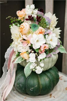 Pink and Grey Vineyard Wedding BouquetFlowers: Sweet Petals FloristsPhotographers: Austyn Elizabeth PhotographyClick view post to find your bouquet recipe! Fall Bouquets, Fall Wedding Bouquets, Fall Wedding Colors, Floral Wedding, Wedding Flowers, Fall Wedding Centerpieces, Flower Centerpieces, Flower Arrangements, Wedding Decor
