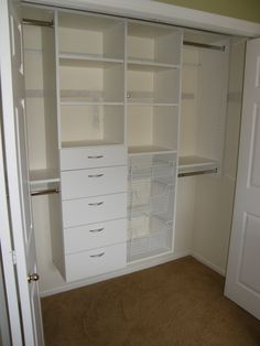Consider A Custom Closet Organization System Designed To Fit Your Storage  Needs. A Custom System Will Provide You The Best Options For ...