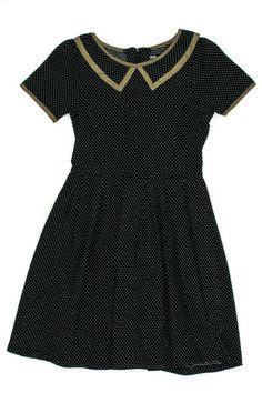 Black Dot Bon Voyage Dress by Dear Creatures