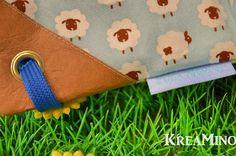 Use Kraft tex on corner of backpacks