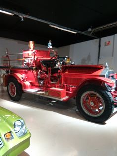 Really old firetruck