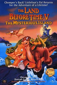 The Land Before Time V: The Mysterious Island Movie Poster Print (27 x 40) - Item # MOVCF5410