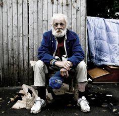 Homeless beauty.